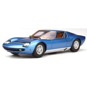 ランボルギーニ ミウラ P400S ブルー (1/18 京商KSR18506BL)|v-toys