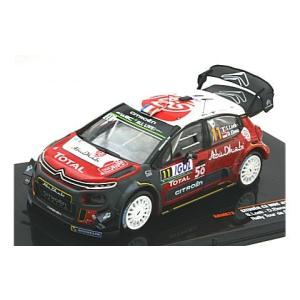 シトロエン C3 WRC 2018 ツール・ド・コルス No11 S.Loeb/D.Elena (1/43 イクソPAM672) v-toys