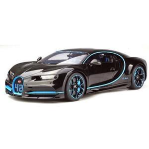 ブガッティ シロン 42 エディション ブラック/ブルー (1/12 京商KSR08664BK)|v-toys