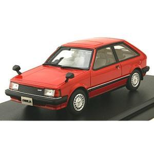 マツダ ファミリア 1500 XG 1980 サンライズレッド (1/43 ハイストーリーHS212RE)|v-toys