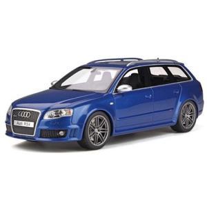アウディ RS4 B7 ブルー (1/18 オットーモビルOTM785)|v-toys