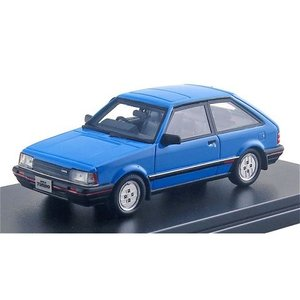マツダ ファミリア ターボ 1500 XG 1983 レマンブルー (1/43 ハイストーリーHS214BL)|v-toys