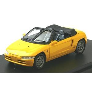 ホンダ ビート (PP1) /カバー付き カーニバルイエロー (1/43 マーク43 PM4389TY)|v-toys