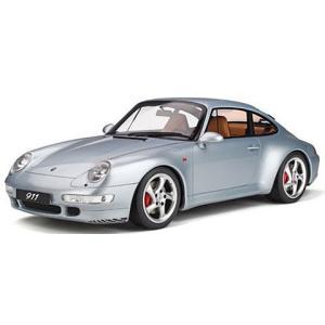 ポルシェ 911 カレラ 4S シルバー (1/12 GTスピリットGTS190)|v-toys