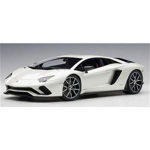 ランボルギーニ アヴェンタドール S パールホワイト (1/18 オートアート79131)|v-toys