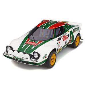 ランチア ストラトス グループ4 ホワイト/グリーン/レッド (1/12 オットーモビルOTMG037)|v-toys
