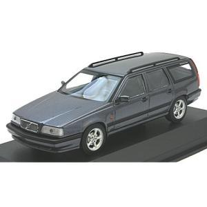 ボルボ 850 ブレーク 1994 ブルーM (1/43 ミニチャンプス940171511) v-toys