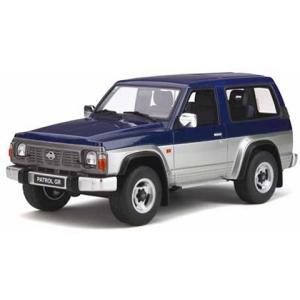 ニッサン パトロール GR ブルー/シルバー (1/18 オットーモビルOTM265)|v-toys
