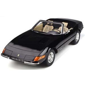 フェラーリ 365 GTB/4 スパイダー ブラック (1/12 GTスピリットGTS220)|v-toys