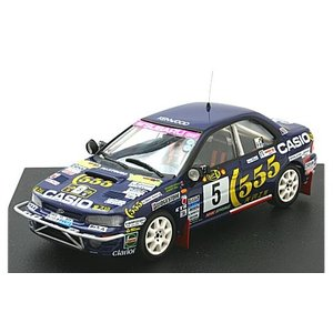 スバル インプレッサ 1995 サファリラリー No5 Richard Burns/Robert Reid (1/43 トロフュー630)|v-toys