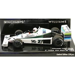 ウィリアムズ フォード FW06 アラン・ジョーンズ  USA GP WEST 1979 3位入賞 (1/43 ミニチャンプス410790027) v-toys