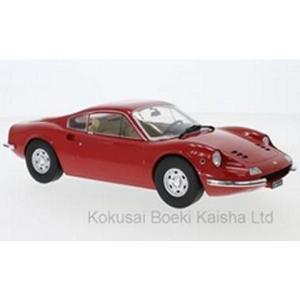 フェラーリ ディーノ 246GT 1969 レッド (1/18 モデルカーグループMCG18166) v-toys
