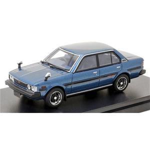 トヨタ カローラ GT 1979 マイアミブルーM (1/43 ハイストーリーHS304BL)|v-toys