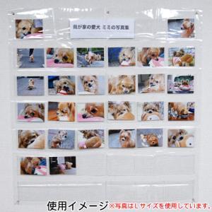 フォトアルバム 万丈 写真展示用ホルダー 2L判 A210-015|v-vanjoh|03