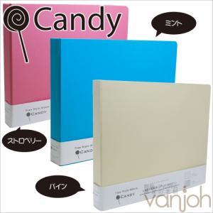 アウトレット 在庫限り フォトアルバム 万丈 フリースタイルアルバム キャンディ Candy L判 360枚|v-vanjoh