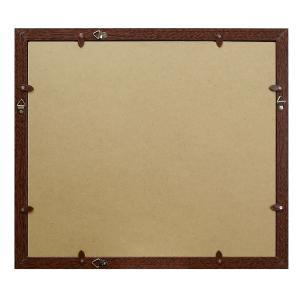 A4 写真立て・壁掛けフォトフレーム・額縁 木製 VMブラウンフレーム マット1枚付き(A4サイズ対応) v-vanjoh 03