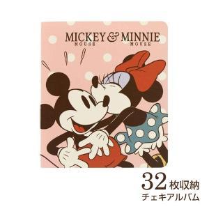 チェキ・カード ポケットアルバム フジカラー ディズニー チェキアルバム 32枚収納 ミッキー&ミニー|v-vanjoh