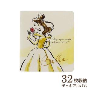 チェキ・カード ポケットアルバム フジカラー ディズニー チェキアルバム 32枚収納 ベル|v-vanjoh