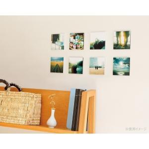 写真パネル・フォトパネル シャコラ(Shacolla)壁タイプ ましかくサイズ(89mm×89mm) 5枚パック フジ FUJIFILM|v-vanjoh|02