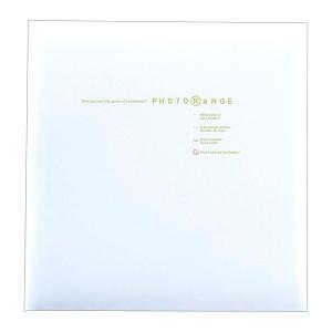 フォトアルバム フリーアルバム ナカバヤシ フエルアルバム フォトレンジ ホワイト 白フリー台紙20枚 20L-92-W v-vanjoh