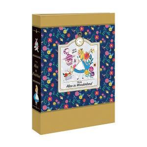 L判写真180枚収納 ポケットアルバム ナカバヤシ ディズニー 1PLポケットアルバム L3段 1PL-1503-4 不思議の国のアリス|v-vanjoh