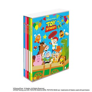 L判 ポケットアルバム ディズニー 5冊BOXポケットアルバム トイ・ストーリー ア-PL-1031-6 L3段210枚収納 ナカバヤシ|v-vanjoh