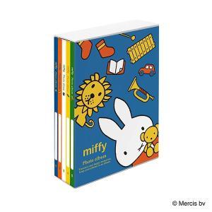 L判 ポケットアルバム  5冊BOXポケットアルバム ディック・ブルーナ ミッフィー ア-PL-1031-9 L3段210枚収納 ナカバヤシ|v-vanjoh