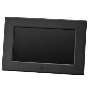 グリーンハウス デジタルフォトフレーム GH-DF7V-BK  ブラック GREENHOUSE|v-vanjoh