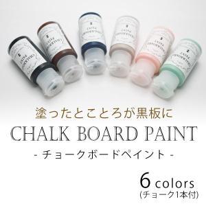 ターナー色彩 チョークボードペイント 30ml [全6色]|v-vanjoh