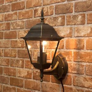 壁照明 街灯 照明  スクエア ランプ ウォールランプ ヨーロピアン オリエンタル|vacationclub