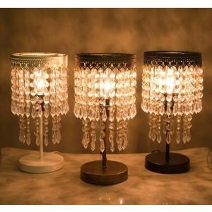 シャンデリア テーブルランプ スタンドランプ 照明  ビーズ ランプ ヨーロピアン オリエンタル|vacationclub