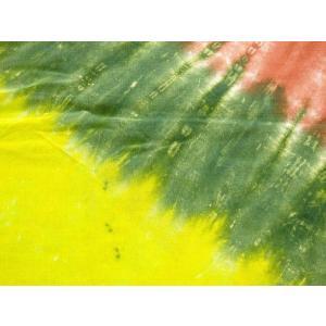 パレオ 水着 の上に タヒチアンダンス タイダイ ベアー レーヨン 水着 の上に フェス 羽織もの タイダイ染め クマ 大判 マルチクロス 巻き方|vacationclub|05