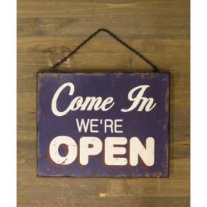 看板 開店 閉店 両面 壁掛け オープン クローズ お店 サインボード サイン カフェ 店舗用 木製|vacationclub|04