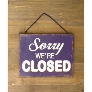 看板 開店 閉店 両面 壁掛け オープン クローズ お店 サインボード サイン カフェ 店舗用 木製|vacationclub|06