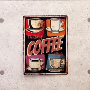アートポスター カフェコーヒー アメリカン アンティーク ダイナー 壁掛け インテリア|vacationclub