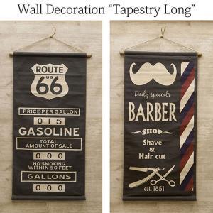 アメリカン雑貨 バーバーショップ USA タペストリー ルート66 Barber Route66 サロン|vacationclub