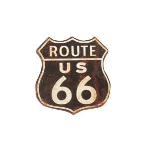 ルート66 ステッカー route66 USA バイク キャラクター カーステッカー ヘルメット|vacationclub