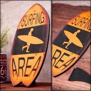 サーフボード 壁掛け 立掛け スタンド ハワイ ウッドボード ハワイアン雑貨 ヤシの木 南国 リゾート|vacationclub