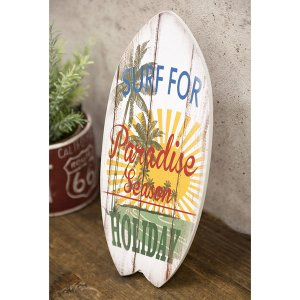 サーファー サーフィン雑貨 ハワイアン雑貨 壁掛け 立掛け 西海岸 スタンド ハワイ ウッドボード ...