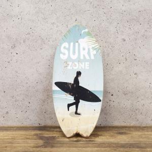 サーファー 雑貨 サーフボード 壁掛け 立掛け スタンド ハワイ ウッドボード ハワイアン雑貨 南国 リゾート|vacationclub