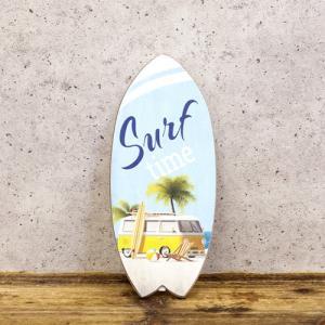 ワーゲン ハワイアン サーファー 雑貨 サーフボード 壁掛け 立掛け スタンド ウッドボード ハワイアン雑貨 南国 リゾート|vacationclub