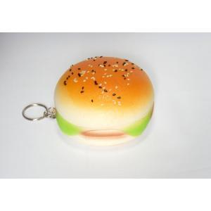スクイーズ パン ハンバーガー Lサイズ 低反発 プニプニ キーホルダー パテ  Burgers|vacationclub
