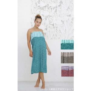 ハワイアン PUKANA 2way スカート ベアトップワンピ マキシ丈スカート サロン 衣装 vacationclub
