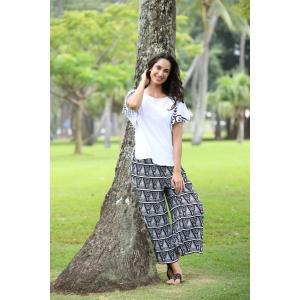 PUKANA フレアパンツ リラックスパンツ ワイド サロン 衣装 ハワイアン vacationclub