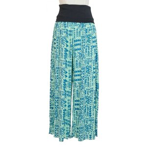 PUKANA ワイド フレアパンツ リラックスパンツ ワイド サロン 衣装 ハワイアン|vacationclub