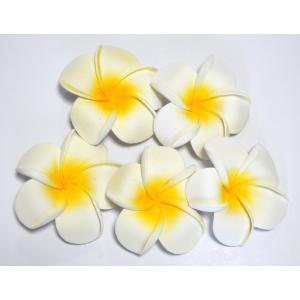 プルメリア 造花 大 5P フローティングフラワー ハワイアン 置物|vacationclub