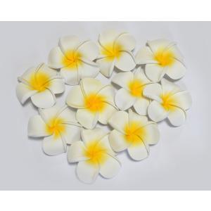プルメリア 造花 大 10P フローティングフラワー 10個セット ハワイアン 置物|vacationclub