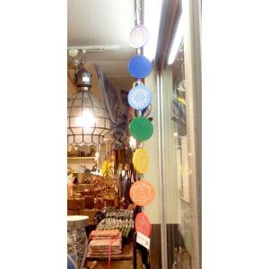 オーナメント 看板 チャクラ ヨガ パネル 木製 バリ島 ウブド ハワイアン雑貨 ウッドボード vacationclub 04