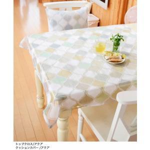 テーブルクロス トップクロス 正方形 カルタゴ モロッコタイル レストラン カフェ クロス アジアン雑貨 vacationclub
