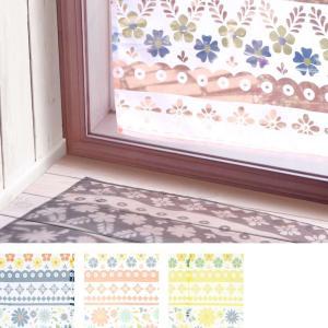 花柄 カーテン ロング ポタリー リゾート ポーランド 東欧 西海岸 ハワイアン|vacationclub